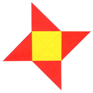 How to make a traditional origami star (http://www.origami-make.org/howto-origami-star.php)