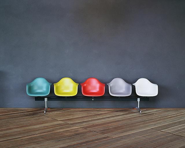 Eames Plastic Armchair #Eames