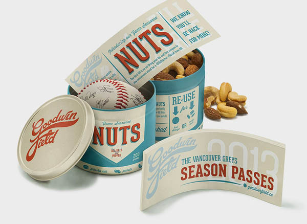 Student Work Packaging Design by Allison Chambers #retro #can