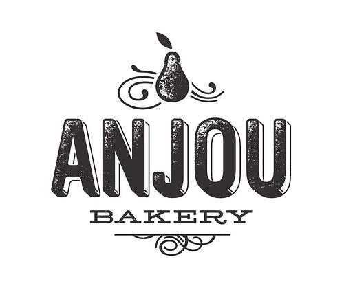 Anjou Bakery logo | Flickr: Intercambio de fotos #logo #vintage #branding