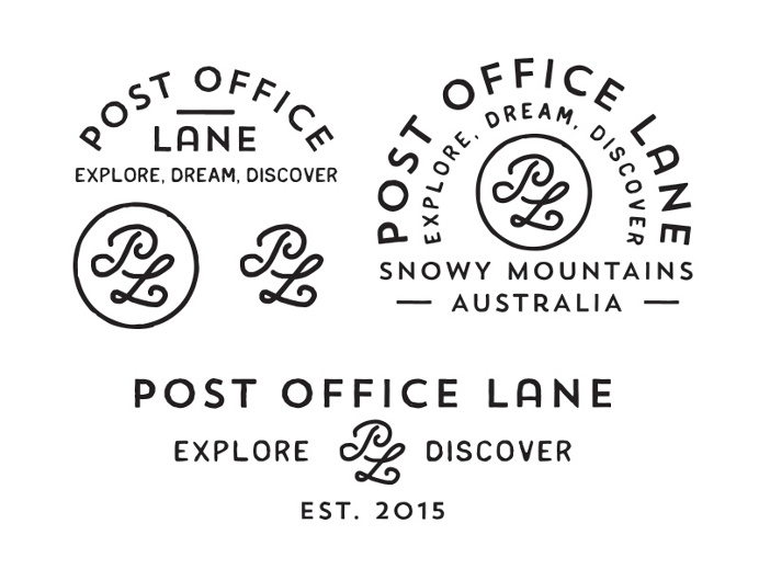 law, lawyer, logo, monogram, typography, vintage, script