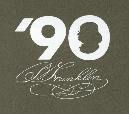 serg_logvin - Rand - 2 #benjamin #franklin #identity #logo #anniversary