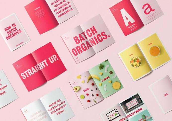 "Ragged Edge reveals ""straight up"" rebrand for Batch Organics   Creative Boom"