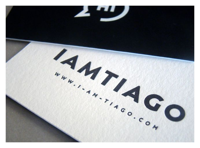 New business cards IamTiago