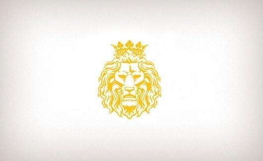 Logos on Branding Served #crown #logo #lion