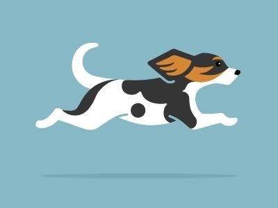 Dribbble - Bear's Logo by Matt Braun #illustration #dog