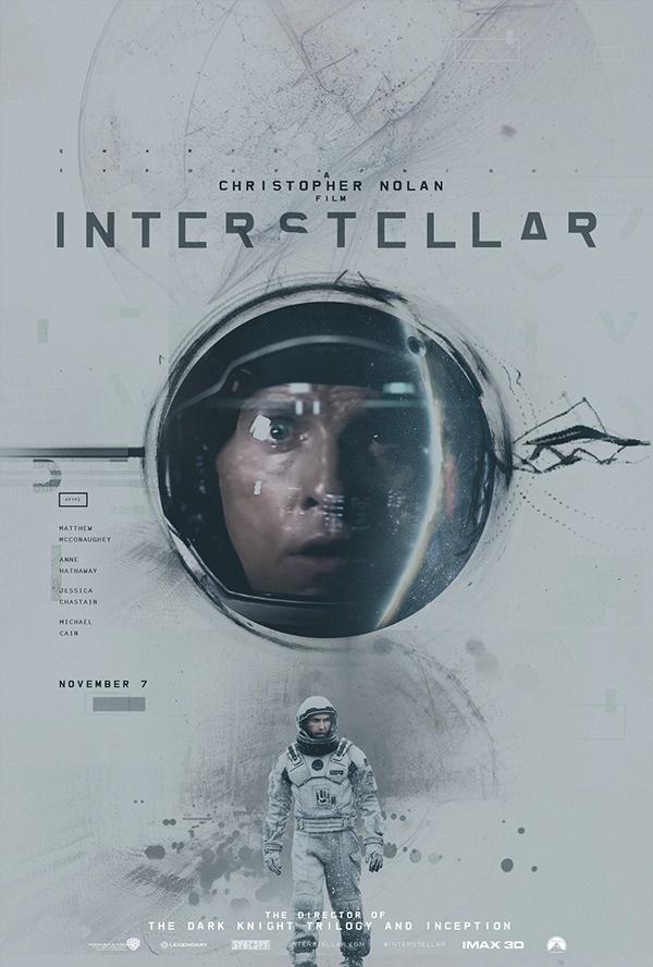 Posters by James Fletcher2 #inspiration #creative #movie #interstellar #print #design #space #unique #poster #film