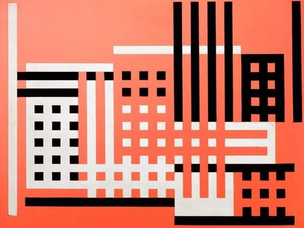 Bauhaus textile #illustration #graphic #textile