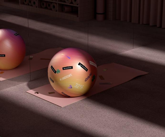Social Workout in 3D - Mindsparkle Mag Beautiful 3D work entitled Social Workout by Six N. Five in Spain. #3d #design #identity #color #photography #graphic #design #gallery #blog #project #mindsparkle #mag #beautiful #portfolio #designer