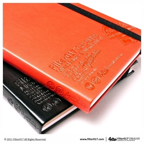 Filter017 Embossed Notebook on the Behance Network #notebook #layout #embossed #product