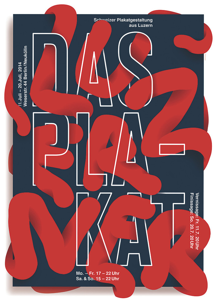 Luzern in Berlin: Plakat #print #poster