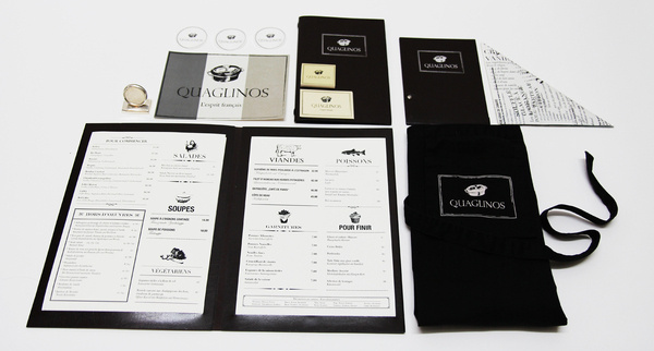 Quaglinos Restaurant : Dyer-Smith #branding #restaurant
