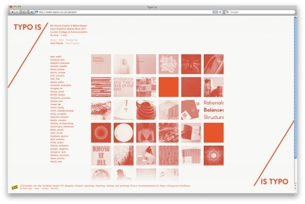 Rich Cousins — Typo is/ #gallery #degree #exhibition #website #show #typo