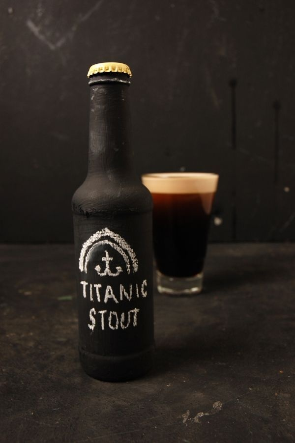 Stout Beer Chalkboard Packaging - ByLaurence Smith #beer #stout