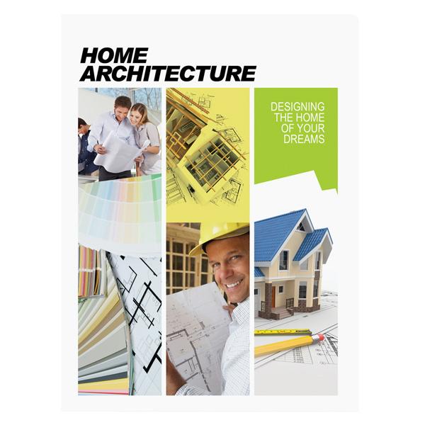 Home Architecture Presentation Folder Template (Front View) #psd #design #photoshop #template #folder