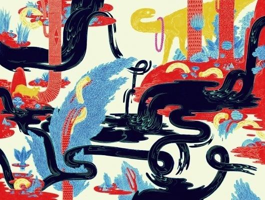 BLDG//WLF #illustration #color #surreal