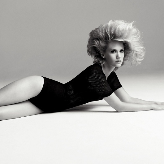 January Jones - Interview Magazine #fashion #january #photography #jones