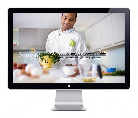 Sebastian Tudor - Art Director /Brand designer #website #santoro