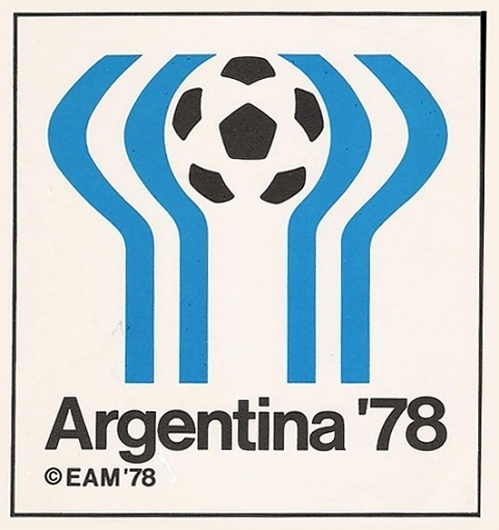 Argentina Football World Cup Logo 1978 #logo design #poster