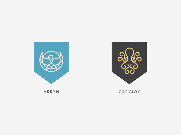 7 | A Top Nike Designer Rebrands Game Of Thrones | Co.Design: business + innovation + design #logo #rebrand #brand #gold