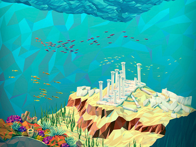 Reefdribbble #ocean #fish #atlantis