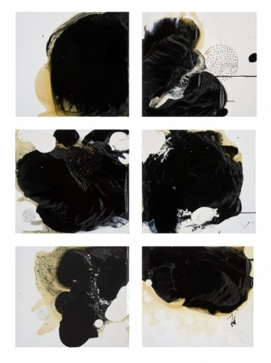 Kim Manfredi #abstract #manfredi #kim #matter #wood #drilling #art #dark #oil