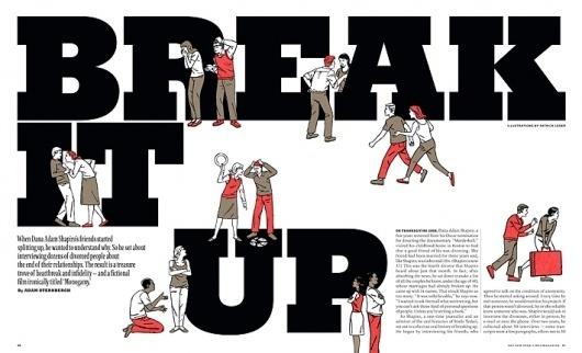 New York Times Magazine « Studio8 Design #illustration #bold #editorial #typography