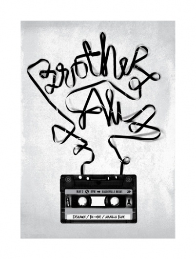 GigPosters.com - Brother Ali #print #gig #poster