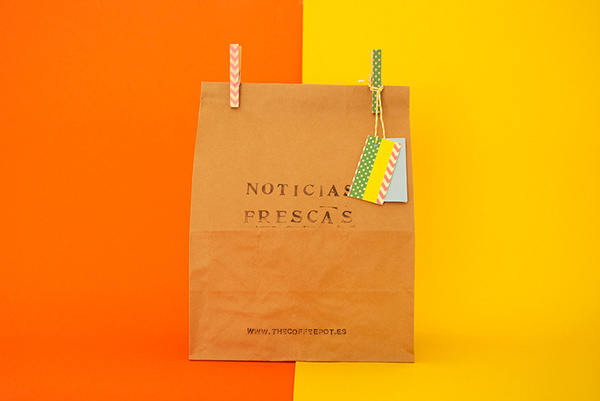 Noticias Frescas / Fresh news on Behance #summer #bag