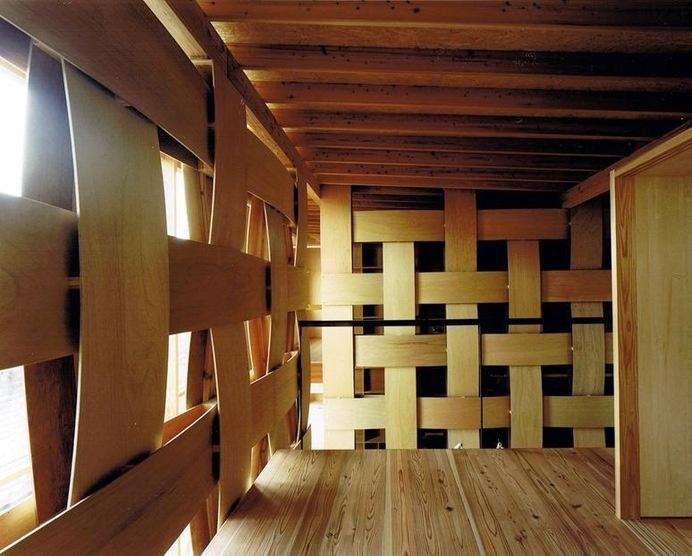 Wood Block House by Tadashi Yoshimura Architects #interior #wood #design