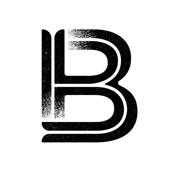 B - Gothic Gotham #type #texture #gotham #typography