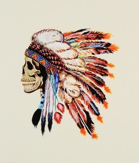 weslangprint.jpg (Immagine JPEG, 750x875 pixel) - Riscalata (86%) #illustration #skull