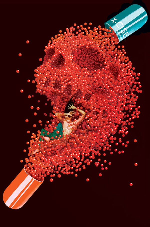 delMundo XMen legacy11 by deadlymike on deviantART #pills #skull