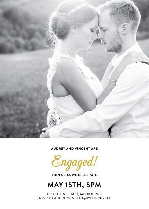 Photocards - Engagement Invitations #paperlust #engagement #invitations #engagementcards #engagementinvitation #design #digitalcards #foils