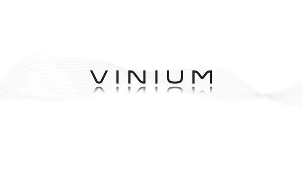 Vinium #futuristic #clean #minimal #logo #wordmark