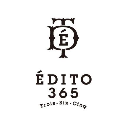 Brand | ÉDITO 365 [エディト・トロワ・シス・サンク] #logo #identity #branding