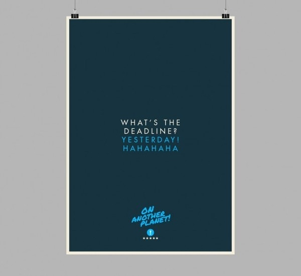 The Client is Always Right Posters3 #design #graphic #client #poster #typography