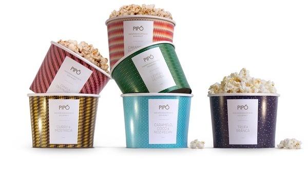 Pipó Gourmet Popcorn 3 #packaging #gourmet #popcorn