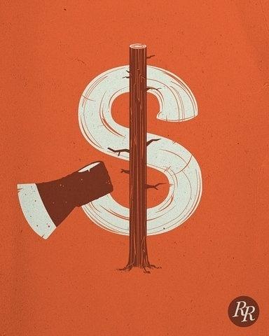 FFFFOUND! | Lumbers | Flickr - Photo Sharing! #axe #orange #lumber #poster