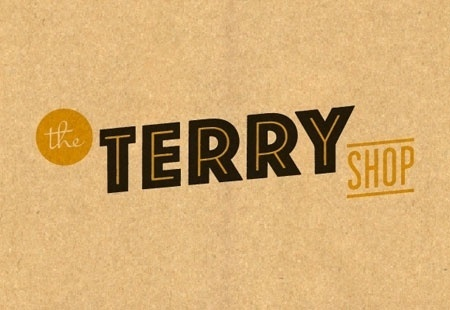 The Terry Shop #logo #design #vintage