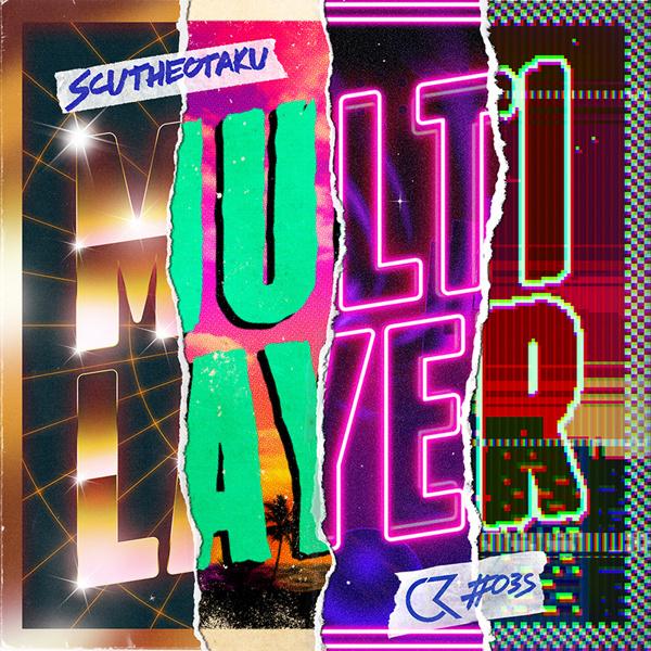 SCUTHEOTAKU - Multilayer (Album artwork) on Behance #design #retro #80s