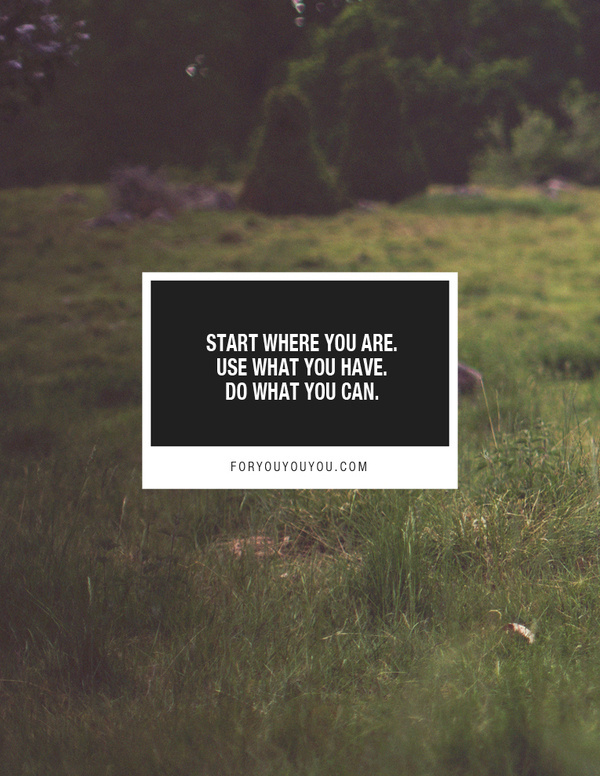 For you & you & you #statement #field #grass #quote #design #graphic #box #photography #square #nature #green