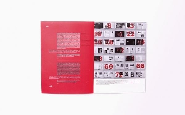 ad-001-deuxhuithuit.jpg 1.020×637 pixels #type #helvetica #spread #red