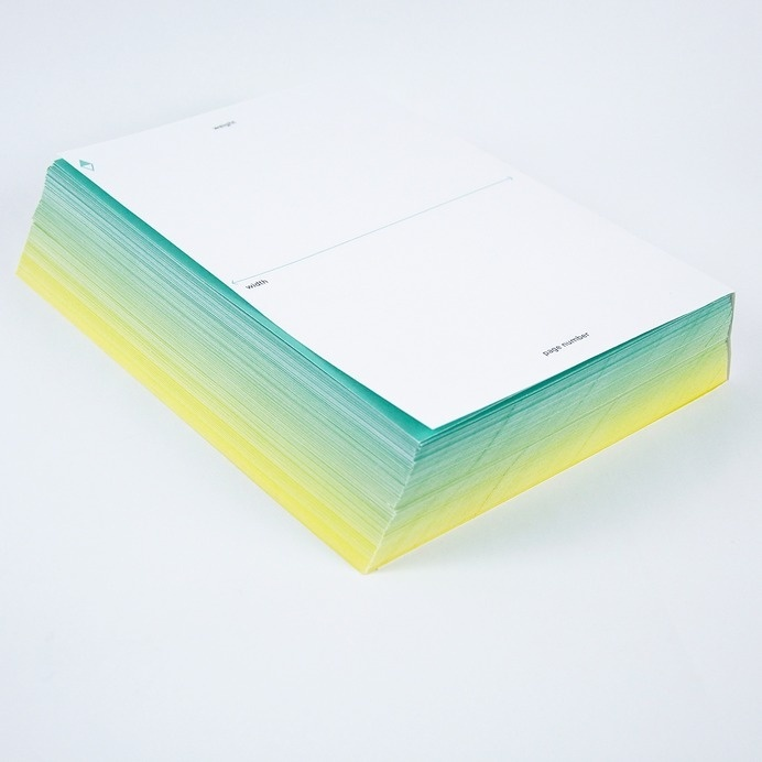book, gradient, cover, pages,