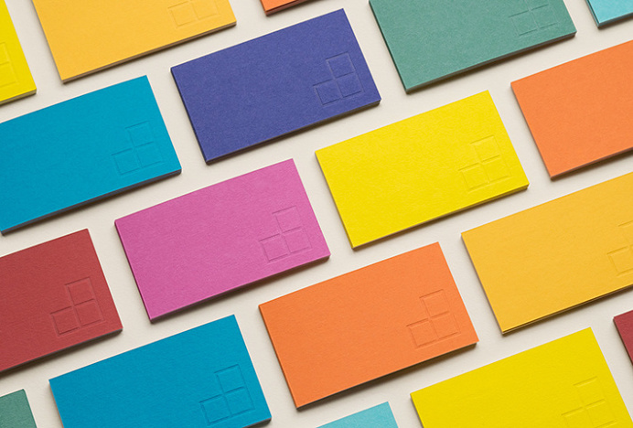Institute for Nonprofit News by Studio Anthony Lane #print #graphic design #business card