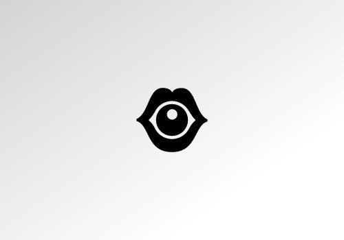 Logo Design #lips #design #ivan #eye #logo #manolov