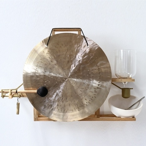 Dezeen » Blog Archive » Just About Now by Maarten Baas with Laikingland #gong #timer #machine #alarm