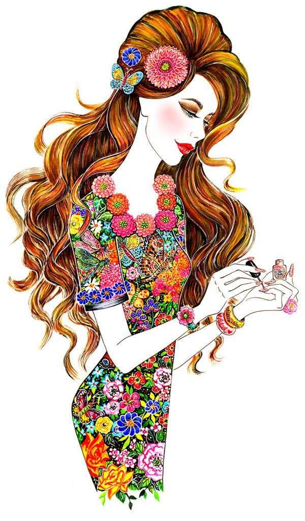 Fashion Illustrations by Sunny Gu