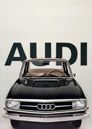 Vintage Audi Poster | AisleOne #saudi #1960s #vintage #poster