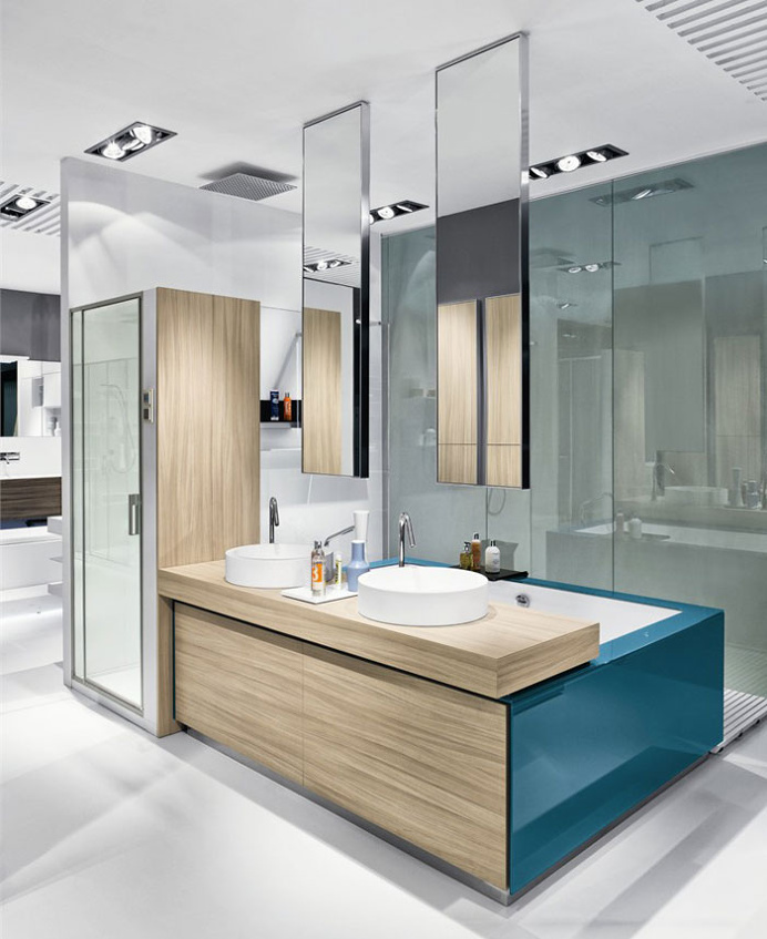 Bathroom Furniture Set by Makro Design